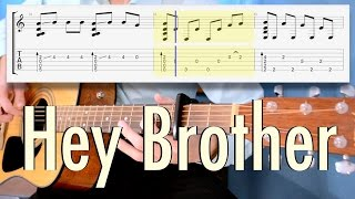 Avicii - Hey Brother (fingerstyle cover, TABS)