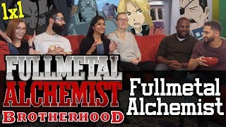 Fullmetal Alchemist: Brotherhood - 1x1 Fullmetal Alchemist - Group Reaction