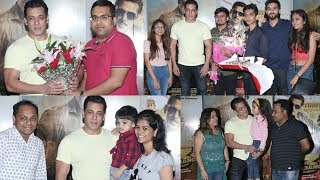 Salman Khan Fans Surprice Him With Special Gifts At Dabbang 3 Special Screening
