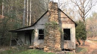 Abandoned Gatlinburg house #31 by a creek. (Filmed before fire)