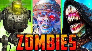 ZOMBIES EASTER EGGS! (Primis Crew) // CALL OF DUTY: ZOMBIES