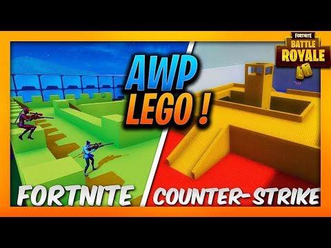 CS:GO AWP LEGO HARİTASINI FORTNITE OYUNUNDA OYNADIK