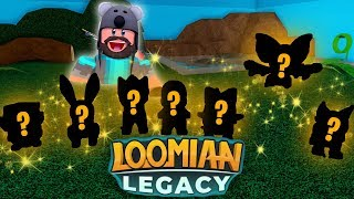 Bought 1600+ Loomians = ALL 7 GLEAMING BEGINNERS In Roblox Loomian Legacy!!