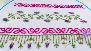 Hand embroidery|Decorative stitches #malina_gm