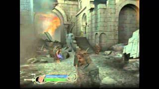 Live Gameplay/El señor de los anillos - El Retorno del Rey/Camino del Hobbit - Huida de Osgiliath