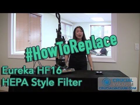 Eureka HF16 HEPA Style Filter Replacement for Part # 68715, 68115, 68115A, 67806