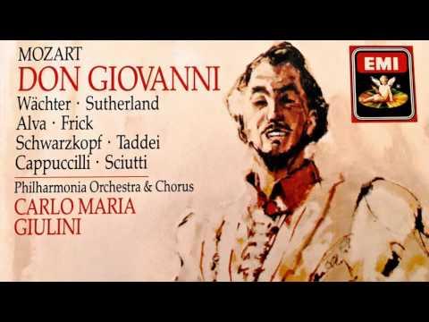 Mozart - Don Giovanni Opera (reference recording : Carlo Maria Giulini)