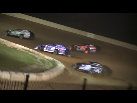 Michigan Dirt Cup modified feature at Hartford Speedway on 7-3-15