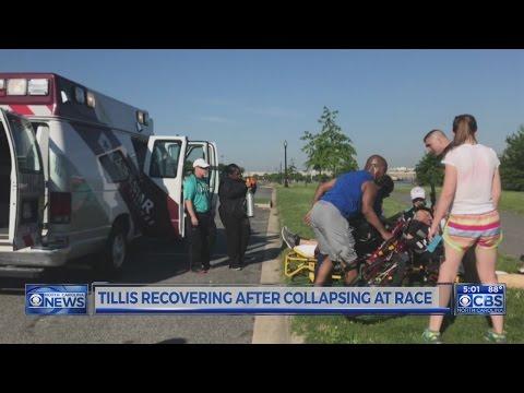 Sen. Tillis out of hospital following mid-race collapse