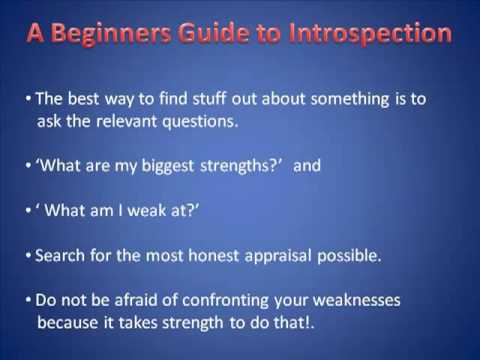A Beginners Guide to Introspection