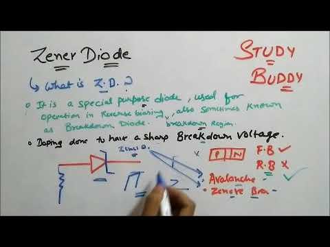 Zener Diode - Avalanche And Zener Breakdown
