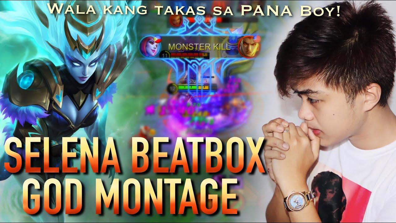 AD BEAT'S SELENA MONTAGE | MLBB | SELENA BEST PLAYS #1! Mapapamura Ka Pagkatapos!