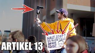 Jetzt wird Artikel 13 zerstört..!
