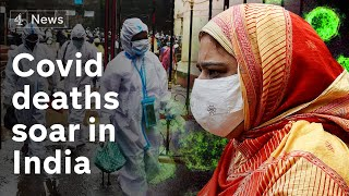 Coronavirus cases in India top two million as daily infections surge | Covid-19