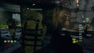 Nuketown Zombies 8 Player Survival Gameplay - Black Ops 2 Zombies