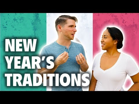 New Year's Traditions in Mexico