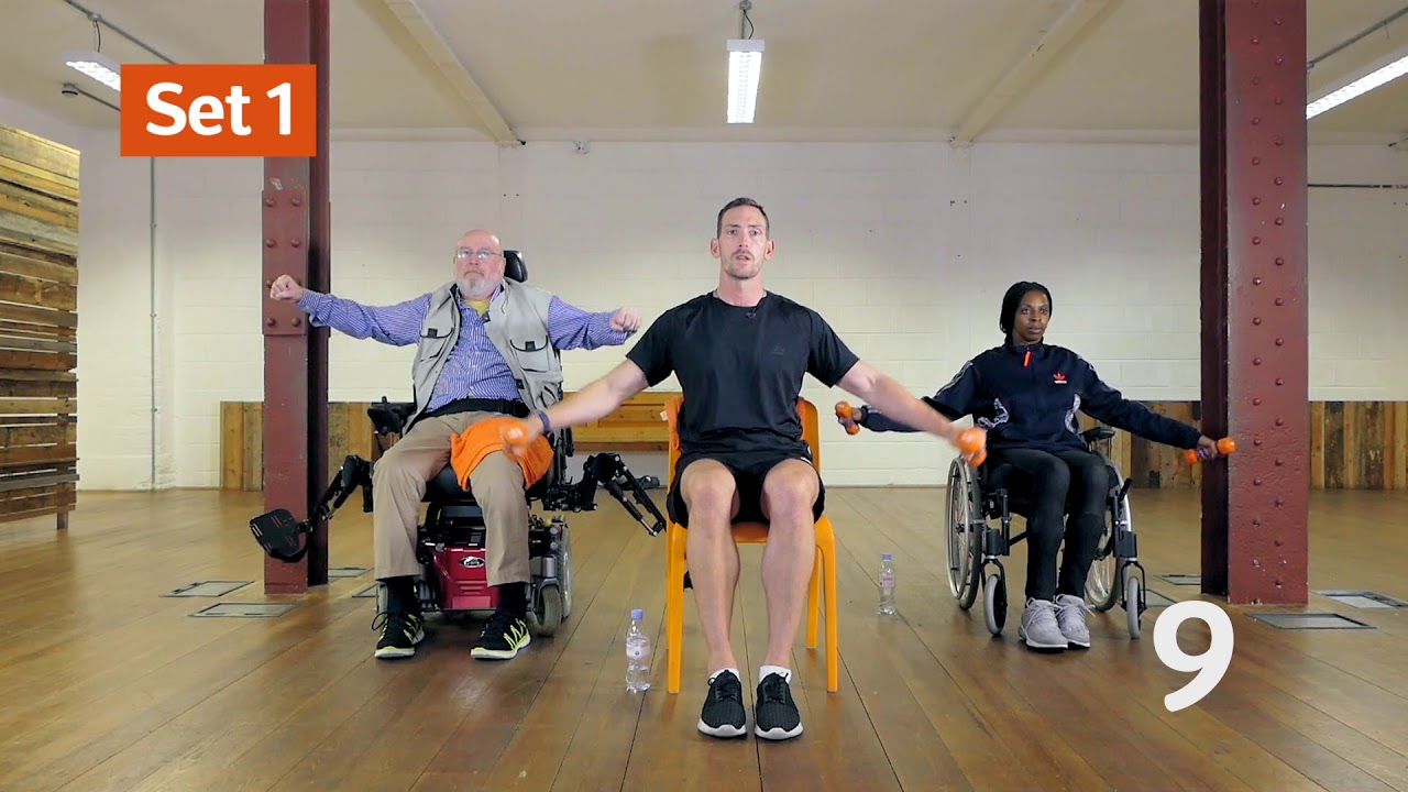10 minutes wheelchair arm workout | Move with MS