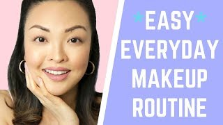 *EASY* Everyday Makeup Routine For Beginners | chiutips