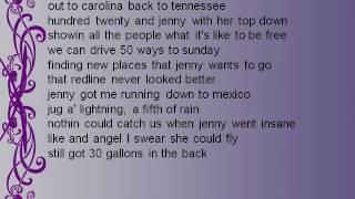 Black Water - Jenny Lyrics