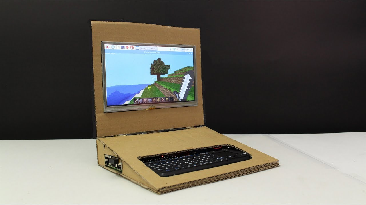 1c18301f1ce82 How to Make a Simple Homemade Laptop for under  100 - YouTube