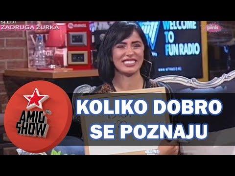 Koliko Dobro Se Poznaju - Aleksandra Subotić i David (Ami G Show S11)