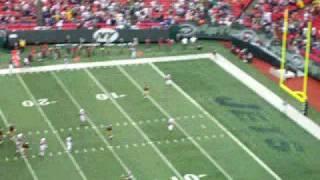 New York Jets vs. Arizona Cardinals Sept 28th 2008