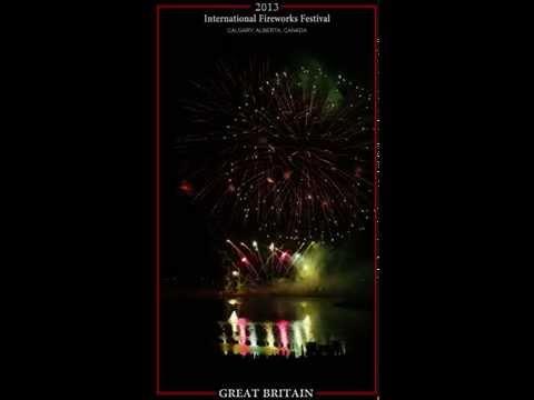 Calgary's International Fireworks Festival 2013 -  GREAT BRITAIN