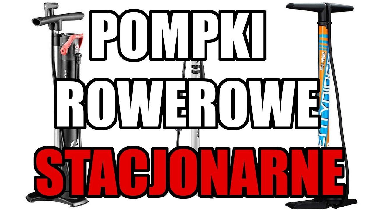 Pompki rowerowe stacjonarne // Rowerowe Porady