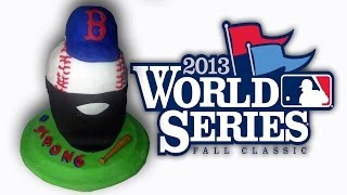 Boston Red Sox World Series 2013 Cake - How To