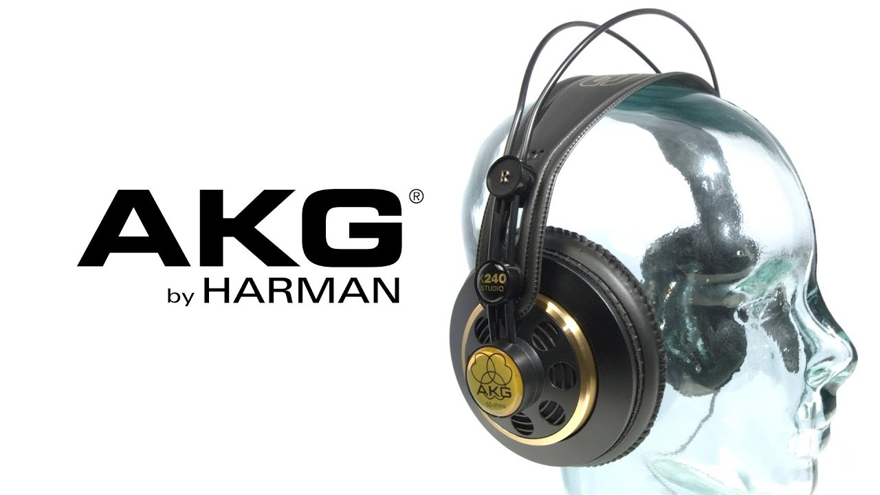best place entire collection outlet AKG K240 Studio Semi-Open Headphones | Gear4music - YouTube