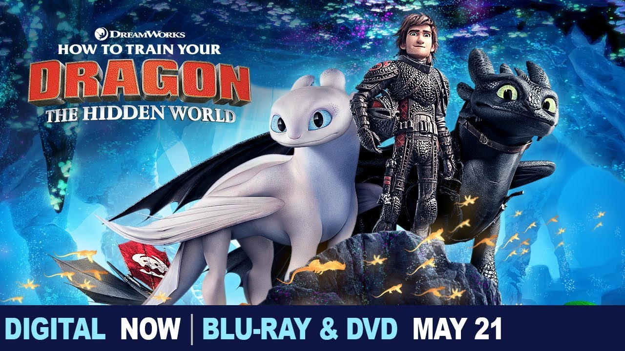How To Train Your Dragon The Hidden World Trailer Own It Now On 4k Blu Ray Dvd Digital Youtube