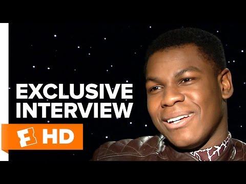 Star Wars: The Force Awakens - Exclusive John Boyega Interview (2015) HD