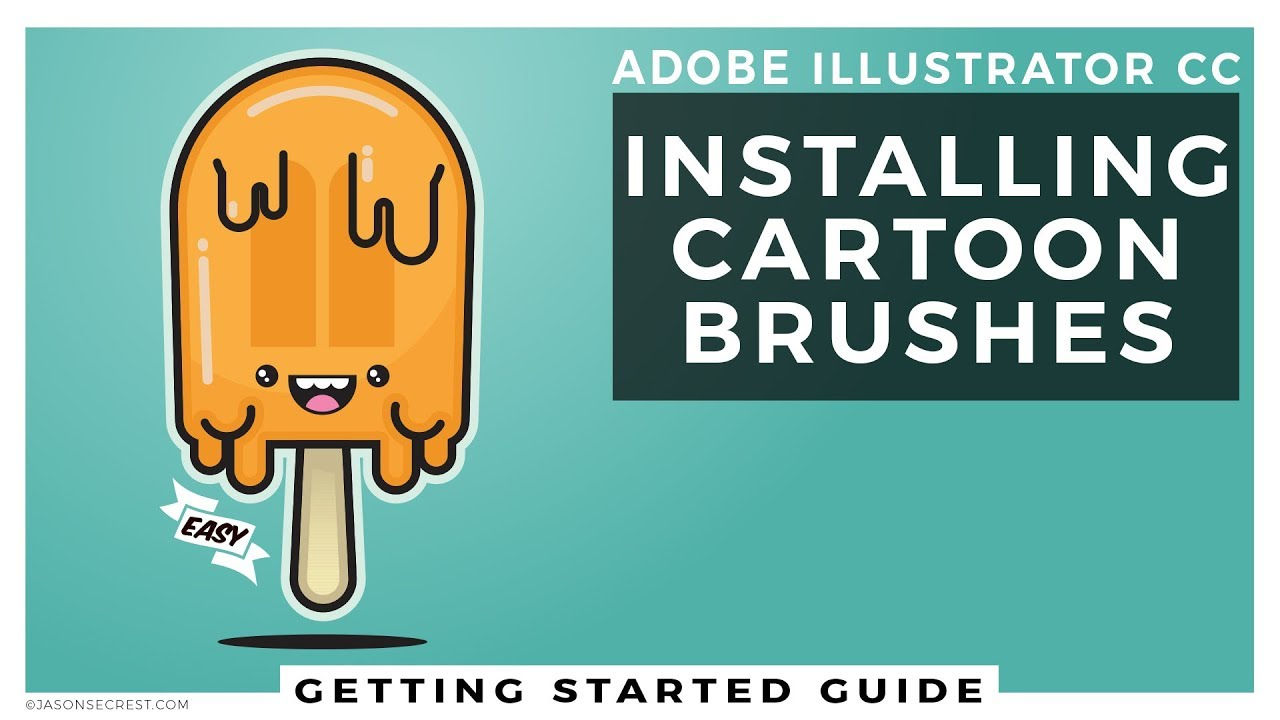 Getting Started: Installing Cartoon Brushes in Illustrator