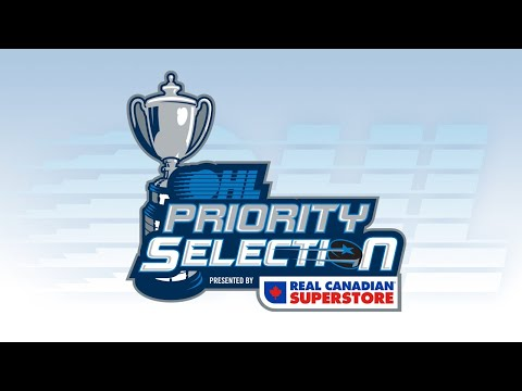 2020 OHL Priority Selection Presented By Real Canadian Superstore #OHLDraft