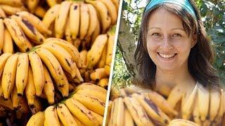إمرأة استمرت في تناول الموز فقط و هذا ما حدث !