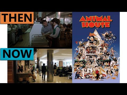 Animal House Filming Locations | Then & Now 1977 Eugene & Cottage Grove Oregon Reshoot