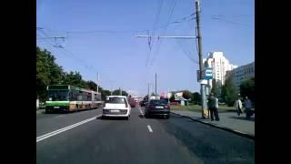 По улице советской, города Гомеля, 2016
