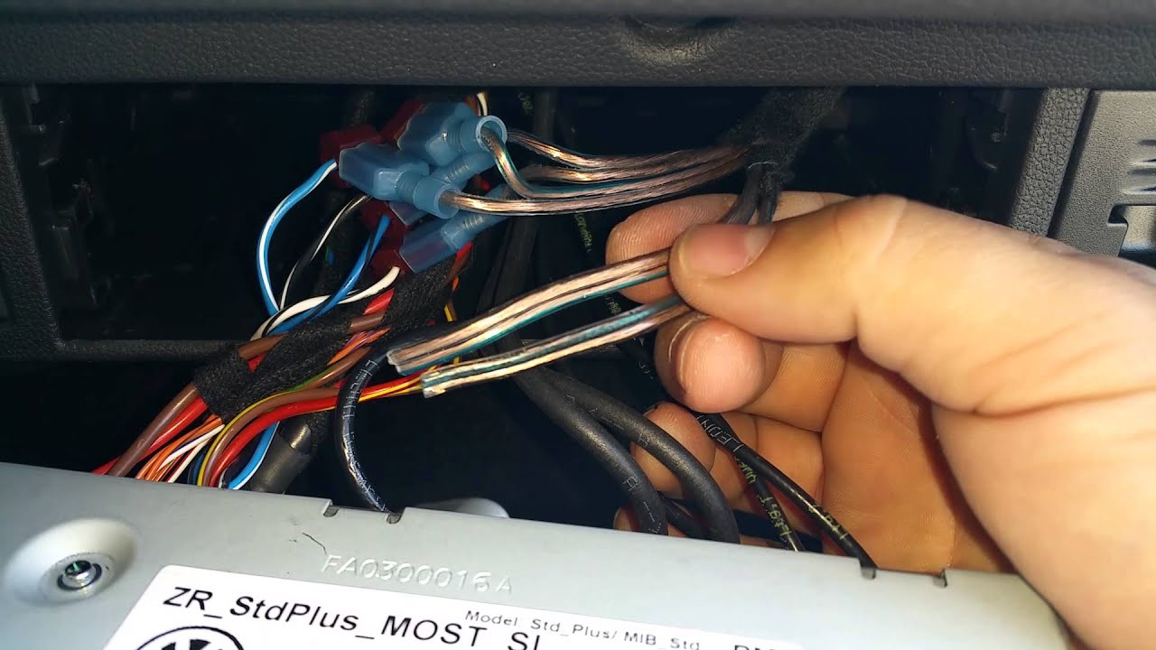 How To Install A Bass System In 2015 Vw Gti Mk7 Youtube Visteon Radio Wiring Harness