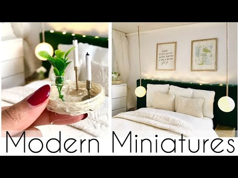 Modern Miniatures: DIY BEDROOM