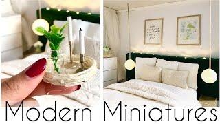 Modern Miniatures: DIY BEDROOM
