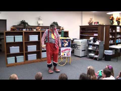ARMADA FREE PUBLIC LIBRARY presents Rosco The Clown (10-25-2014)