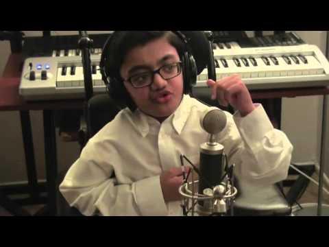 "Disabled Kid's tribute to Eminem , ""Im not Afraid"" Amazing rap skills!"