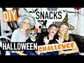DIY CHALLENGE Halloween Ft Swan The Voice, Néo The One & Sophie (français)