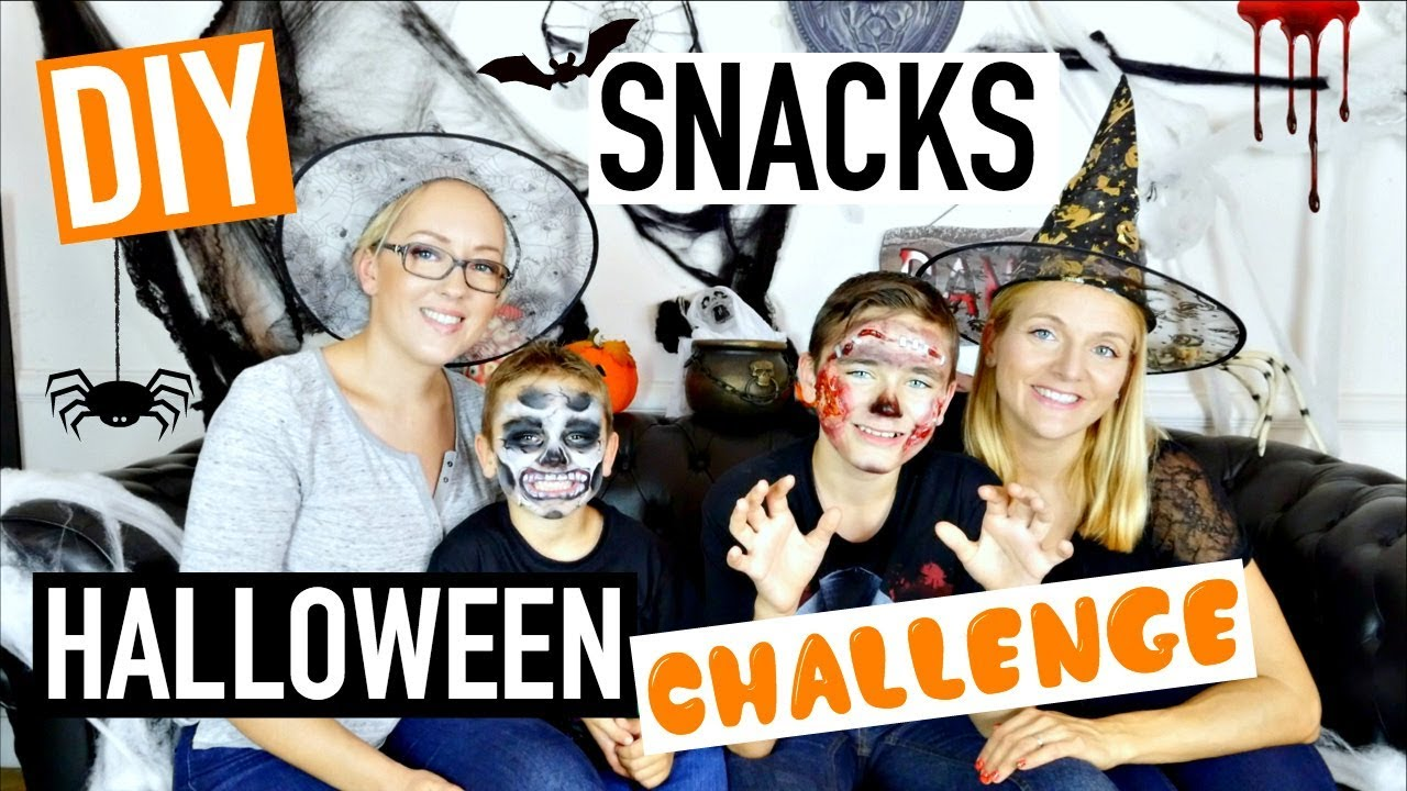 diy challenge halloween ft swan the voice n o the one sophie fran ais youtube. Black Bedroom Furniture Sets. Home Design Ideas