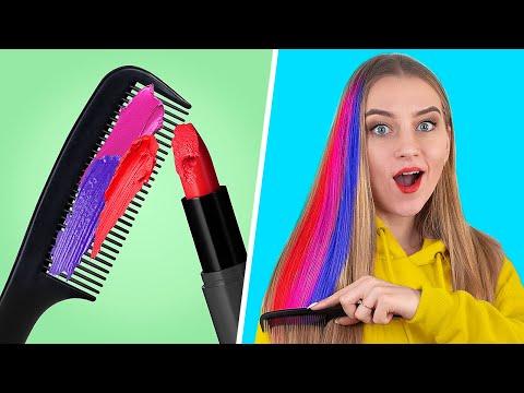 10 Cool Girly and Beauty Hacks / Smart Lipstick Hacks