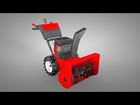 How It Works: Snowblower