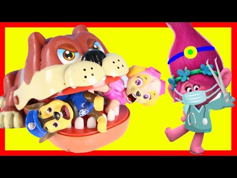 Paw Patrol Skye Loses Boss Baby Tooth At Dentist with Tooth Fairy Surprise | Ellie Sparkles