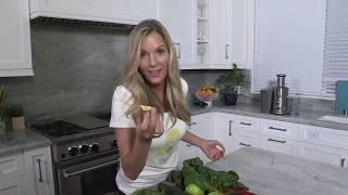 Ginger Lewis - Juicing - Clean Green