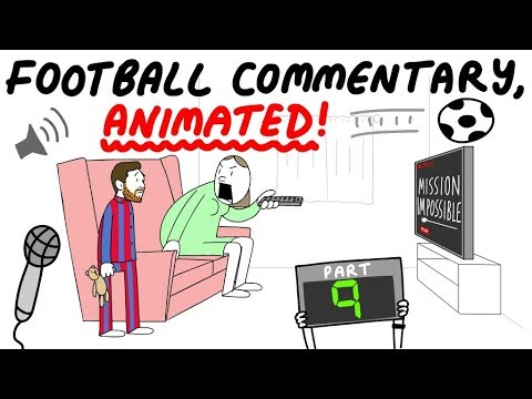 Commentators animated out of context