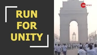Delhi runs for untiy, PM Modi to unveil Statue of Unity